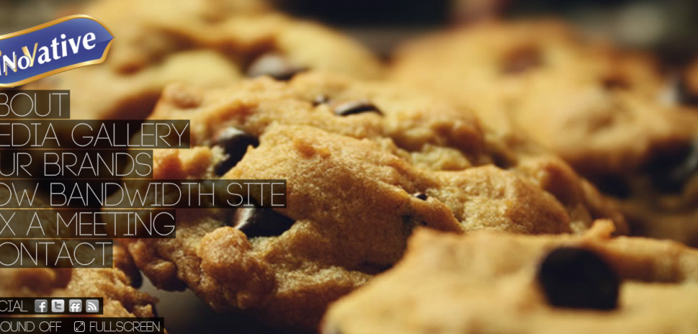 Flash Website Project for Biscuit Company 3