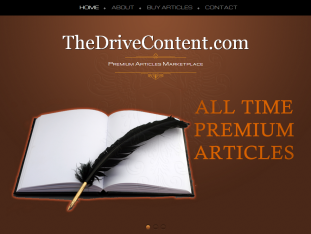 TheDriveContent.com Articles Marketplace
